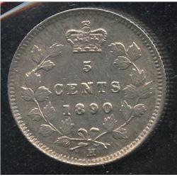 1890H Five Cents