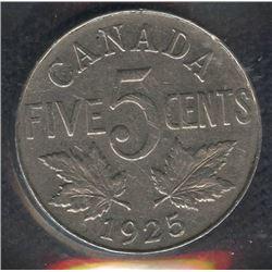 1925 Five Cents