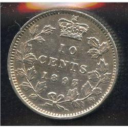 1893 Ten Cents