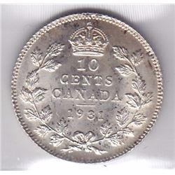 1931 Ten Cents