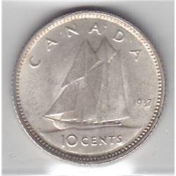 1937 Ten Cents