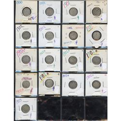 Canada Ten Cent - Lot of 85