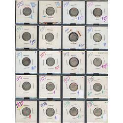 Canada Ten Cent - Lot of 180