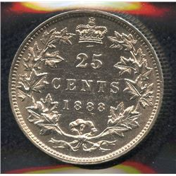 1888 Twenty-Five Cents