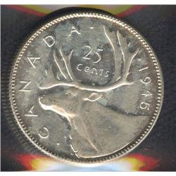1945 Twenty-Five Cents