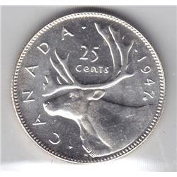 1947 Twenty-Five Cents