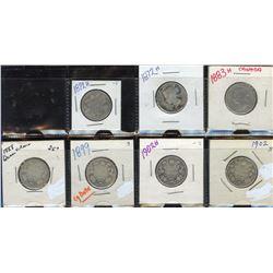 Canada Twenty-Five Cents - Lot of 102
