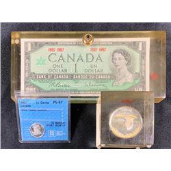 Canada Centennial 1967 - Lot of 3