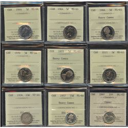 Canadian Coin Collection - ALL ICCS Graded - Part 1
