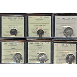 Canadian Coin Collection - ALL ICCS Graded - Part 2