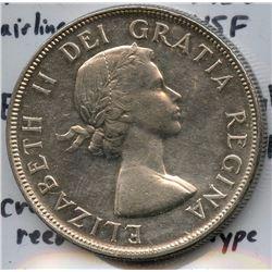 1953 NSF Silver Dollar Error Coin