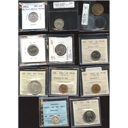 Canadian Error Coin Lot