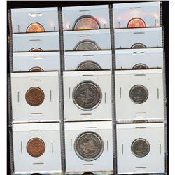 4 x Double Sets of 1999P Cent & Dime Test Sets