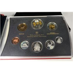 2005 CANADIAN NATIONAL FLAG 40TH ANNIVERSARY PROOF DOUBLE DOLLAR SET