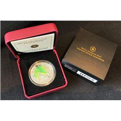 2008 $20 Canada Crystal Raindrop Fine Silver Coin