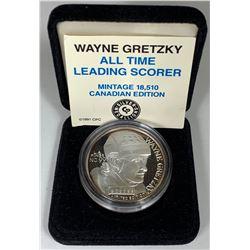 1991 Wayne Gretzky 1oz Silver Medallion