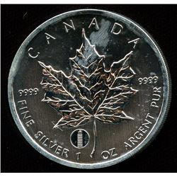 2012 Leaning Tower of Pisa $5 Silver Maple Leaf Privy