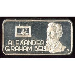 The Hamilton Mint - Alexander Graham Bell Art Bar (Tax Exempt)