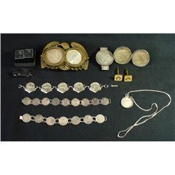 Coin Jewellery Collection Lot