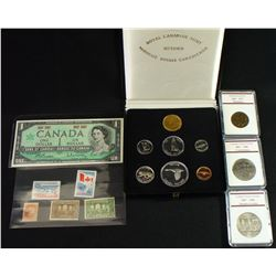 Canada 1967 Commemorative Coin & Stamp Lot