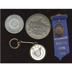 Odds and Ends Medal Lot