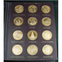 The Thomason Medallic Bible Franklin Mint 60 Bronze Medals – Complete Set!