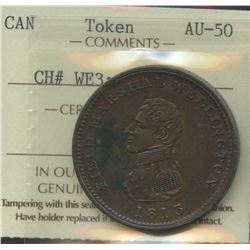 Wellington Lower Canada ½ Penny Token, Br 974