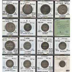 Canadian Countermark - Lot of 21