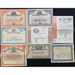 Selection of Eight Financial Documents