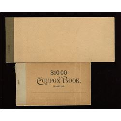 Province of Ontario Savings Office Cheque Book, 1920s