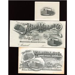 """Canada Bank Note Co., Die Proof Vignette V-48, """"Mitchell Factory"""""""