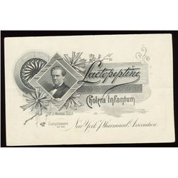 Advertising Card, Lactopeptine