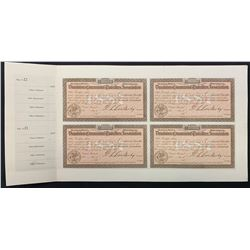 Dominion Commercial Travellers Association, Montreal.Proof sheet