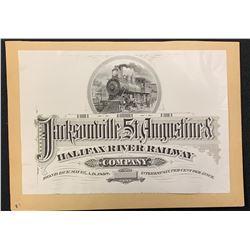 Jacksonville, St. Augustine & Halifax River Railway (Florida)