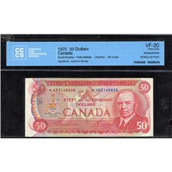 Bank of Canada $50, 1975 Replacement Note