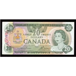 """Bank of Canada $20, 1979 Replacement Note """"510"""""""