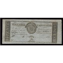W.&J. Bell Quarter Dollar Scrip, 183_