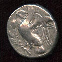 BRUTTIUM, Kroton. ca. 350-300 BC. AR Nomos