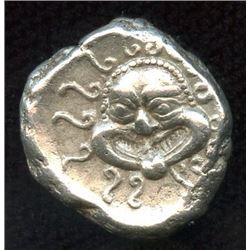 THRACE, Apollonia Pontica. ca. 450-400 BC. AR Drachm