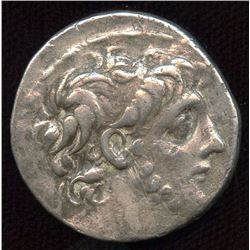SELEUKID EMPIRE. Antiochos IX Eusebes Philopator (Kyzikenos). 114/3-95 BC. AR Tetradrachm