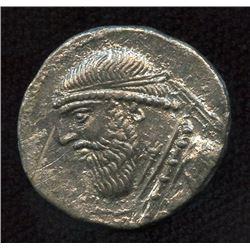 KINGS of PARTHIA. Mithradates II. 121-91 BC. AR Drachm