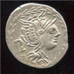 Roman Republic - M. Lucilius Rufus. 101 BC. AR Denarius