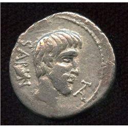 Roman Republic - L. Titurius L. f. Sabinus. 89 BC. AR Denarius