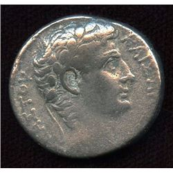 Roman Provincial - Augustus. 27 BC-AD 14. AR Tetradrachm