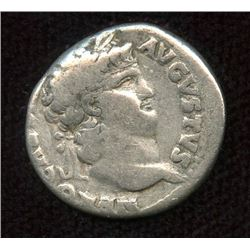 Roman Imperial - Nero. 54-68 AD. AR Denarius