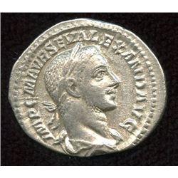 Roman Imperial - Severus Alexander. 222-235 AD. AR Denarius
