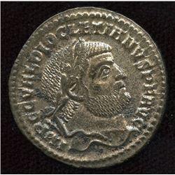 Roman Imperial - Diocletian. 284-305 AD. AE Follis
