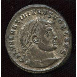 Roman Imperial - Galerius, as Caesar. 293-305 AD. AE Follis