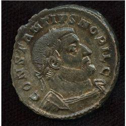 Roman Imperial - Constantius I, as Caesar. 293-305 AD. AE Follis