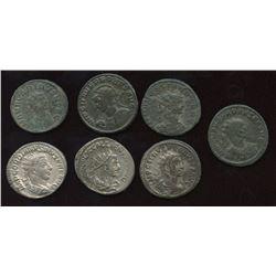 Roman Imperial - 3rd Century Antoninianus Group. Lot of 7
